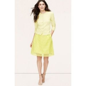 Loft Neon Illusion Eyelit Skirt